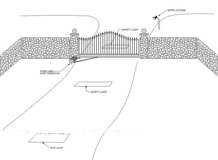 Diagrams Amp Plans Precision Gate Services